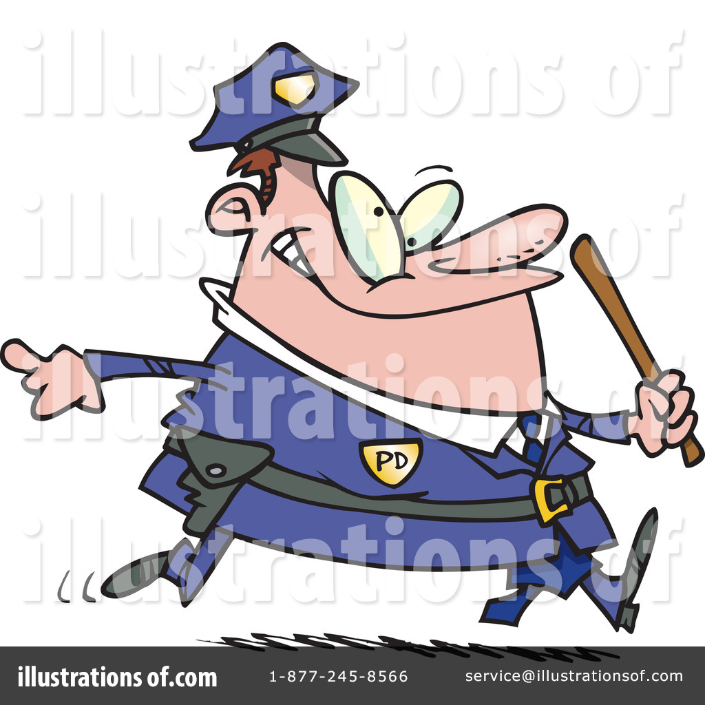 police clipart 437099 illustration by toonaday
