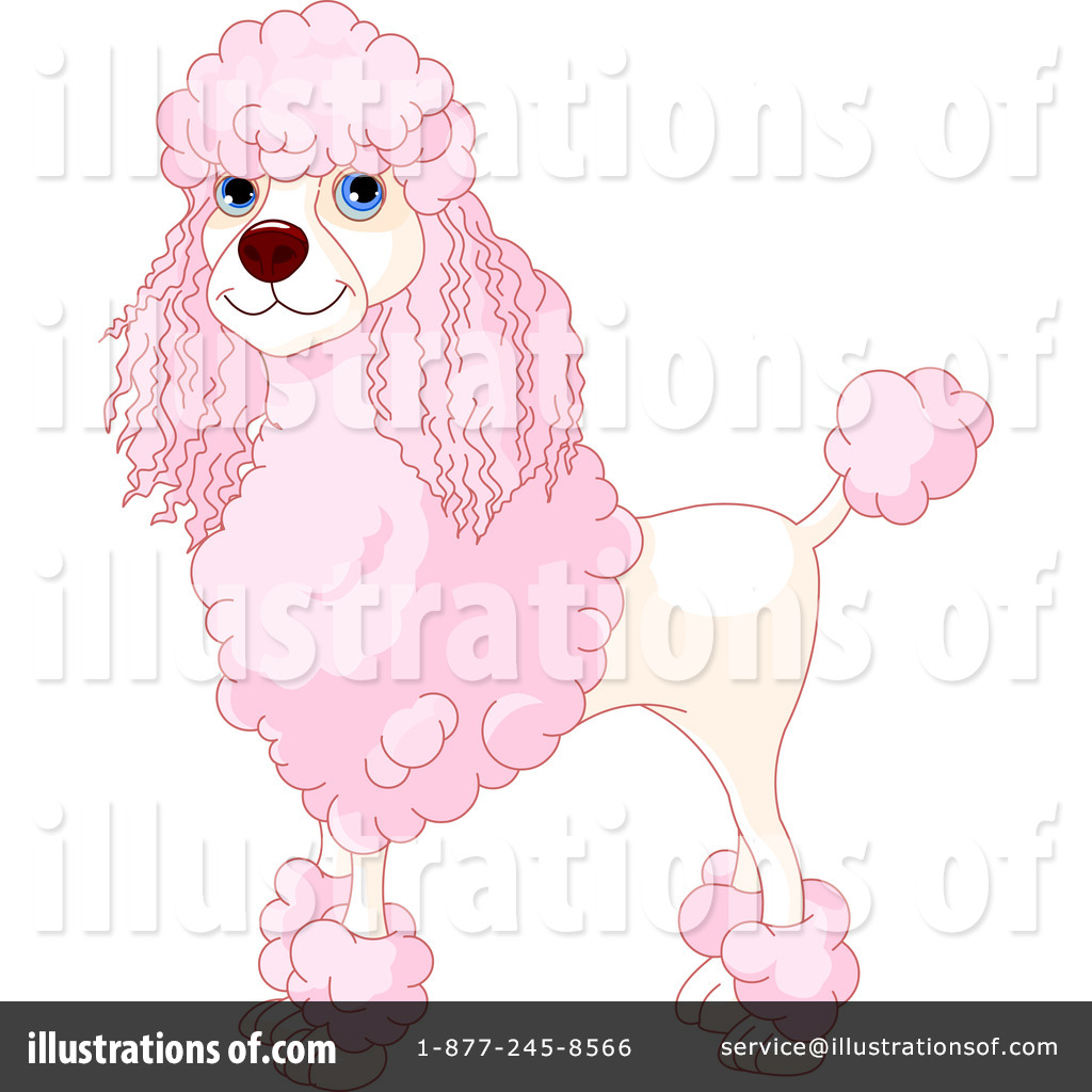 Free rf poodle clipart illustration 215241 by bnp design studio -  Poodle Clipart 223845 Ilration By Pushkin