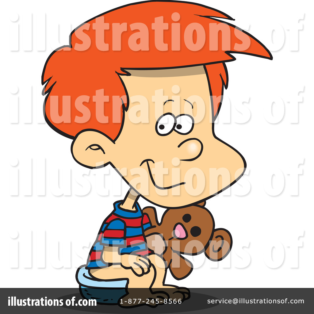 potty training clipart 1046481 illustration by toonaday rh illustrationsof com