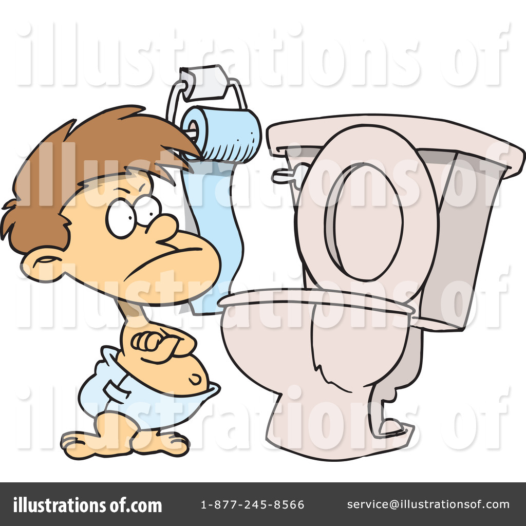 potty training clipart 438027 illustration by toonaday