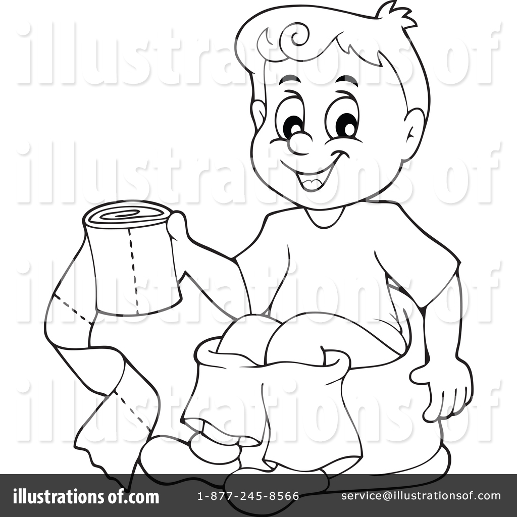 Potty Training Clipart 1389768 Illustration By Visekart