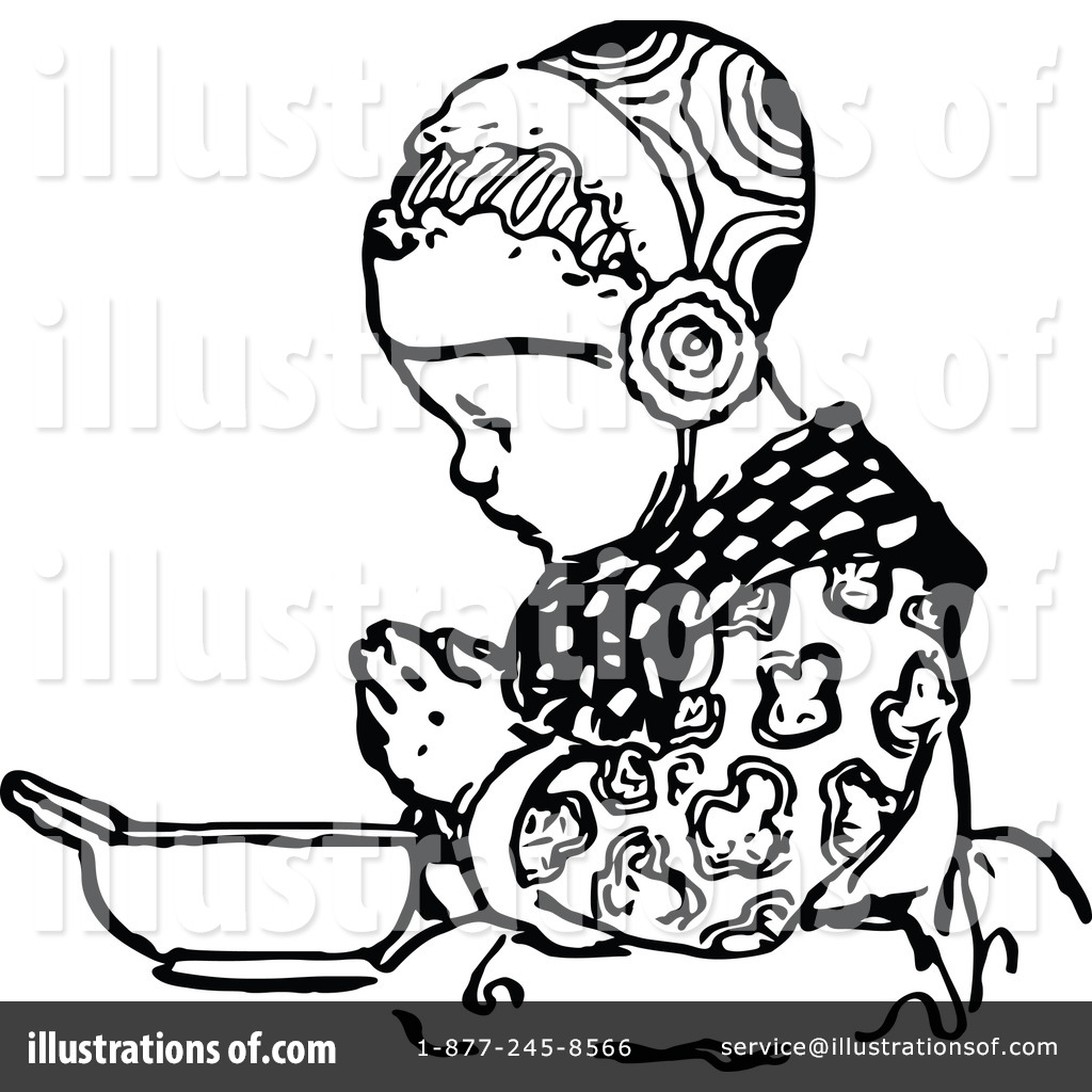 Boy Praying Clipart Black And White