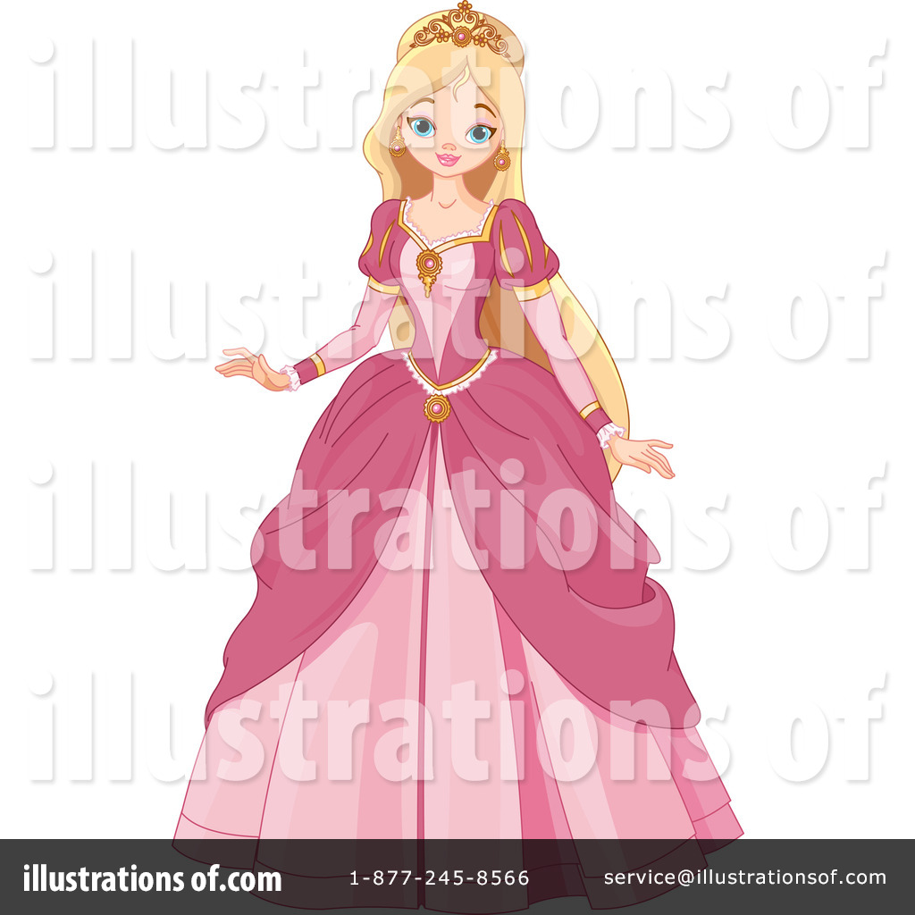 Princess Clipart #76124 - Illustration by Pushkin