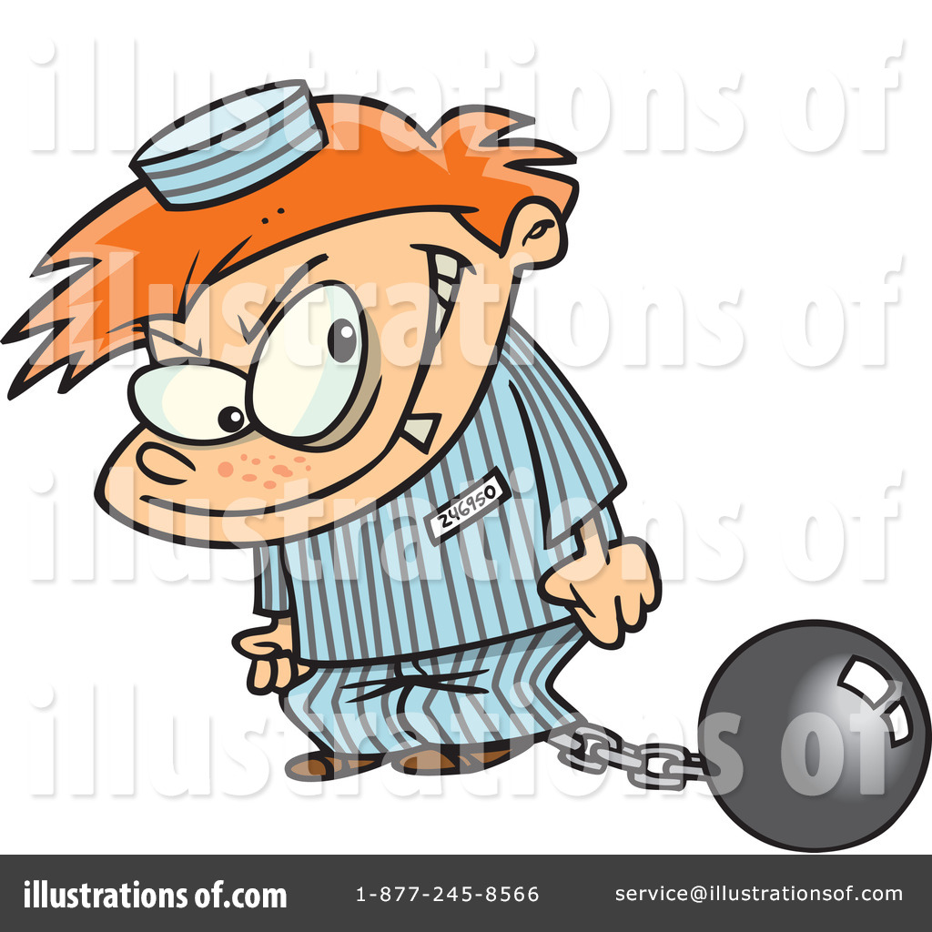 prisoner clipart 440329 illustration by toonaday rh illustrationsof com