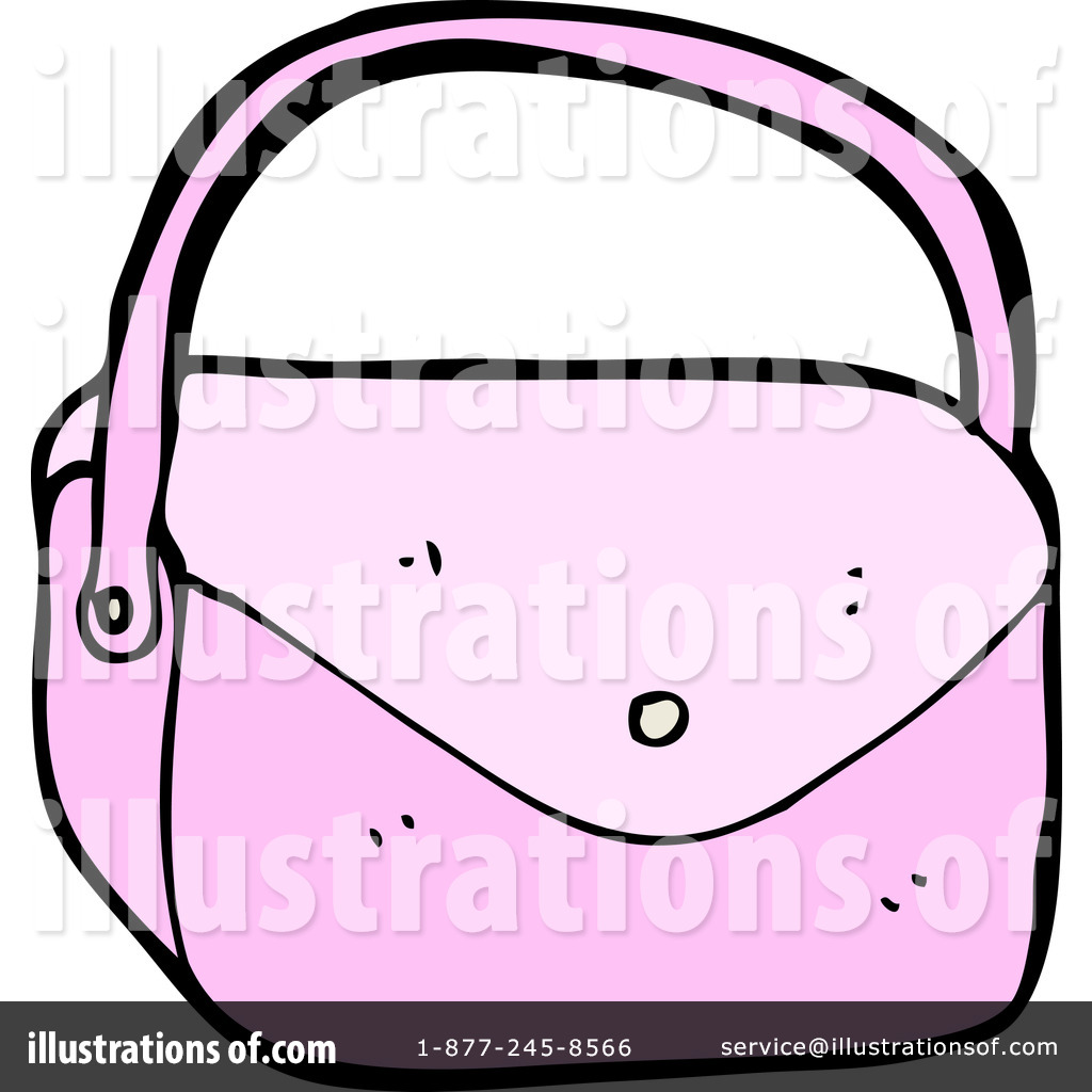 Purse Clipart #1182932 - Illustration by lineartestpilot