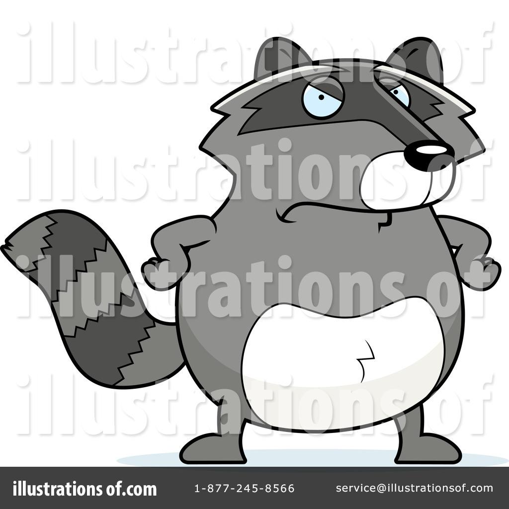 raccoon clipart 218759 illustration by cory thoman