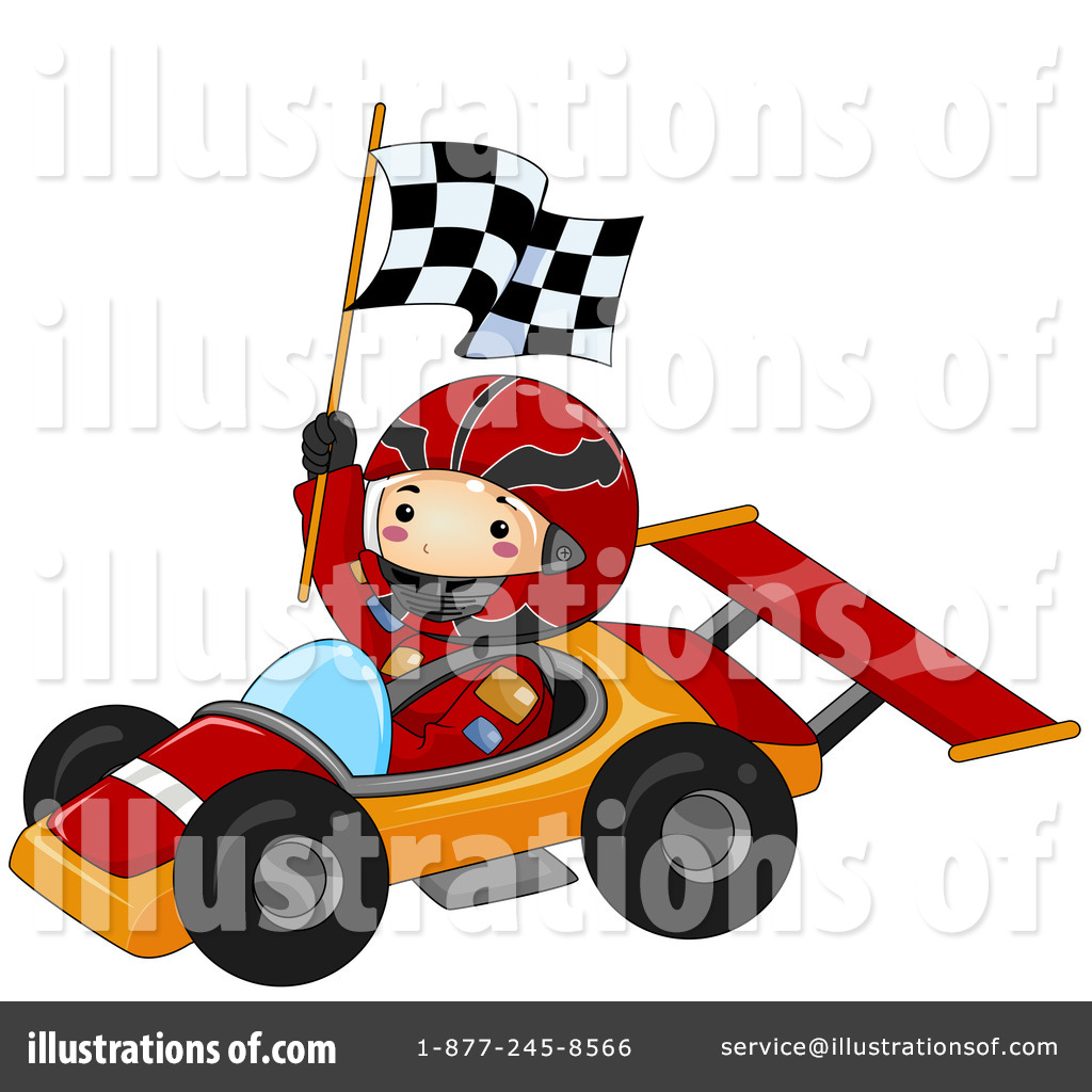 Race Car Clipart Illustration By Toonaday