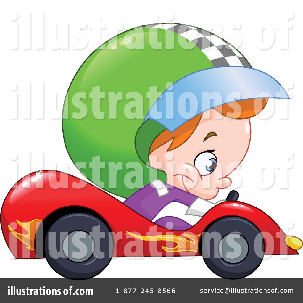 Race Car Driver Clipart #1162287 - Illustration by yayayoyo