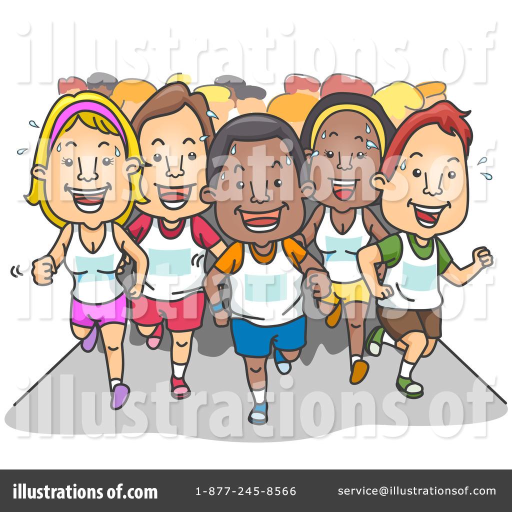 Race Clipart #226232 - Illustration by BNP Design Studio
