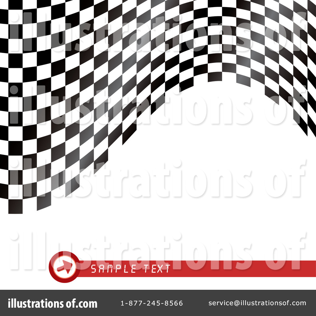 Racing Flag Clipart #58519 - Illustration by MilsiArt