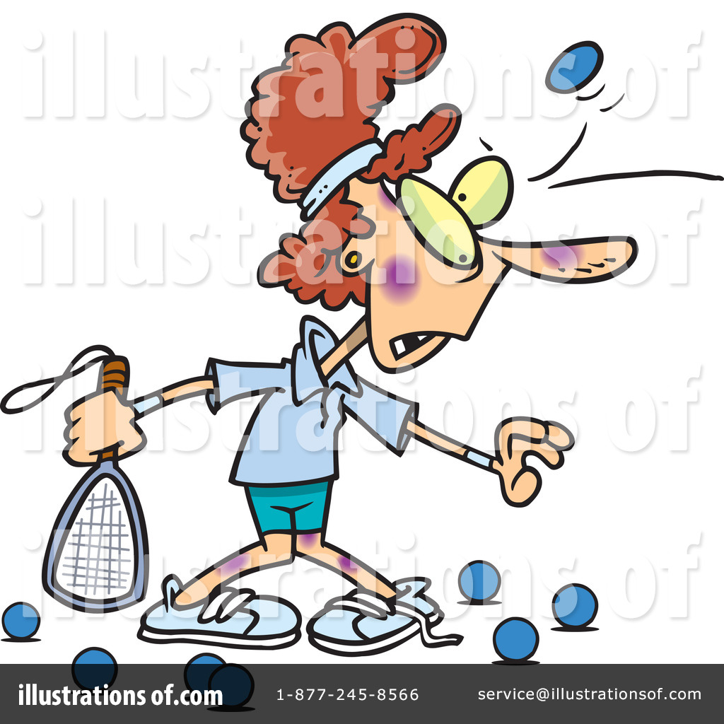 racquetball clipart 441655 illustration by toonaday rh illustrationsof com racquetball racquet clipart Racquetball Racquet Clip Art