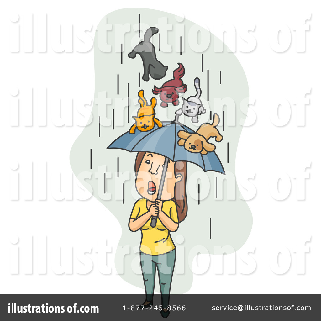 Cats And Dogs Umbrella