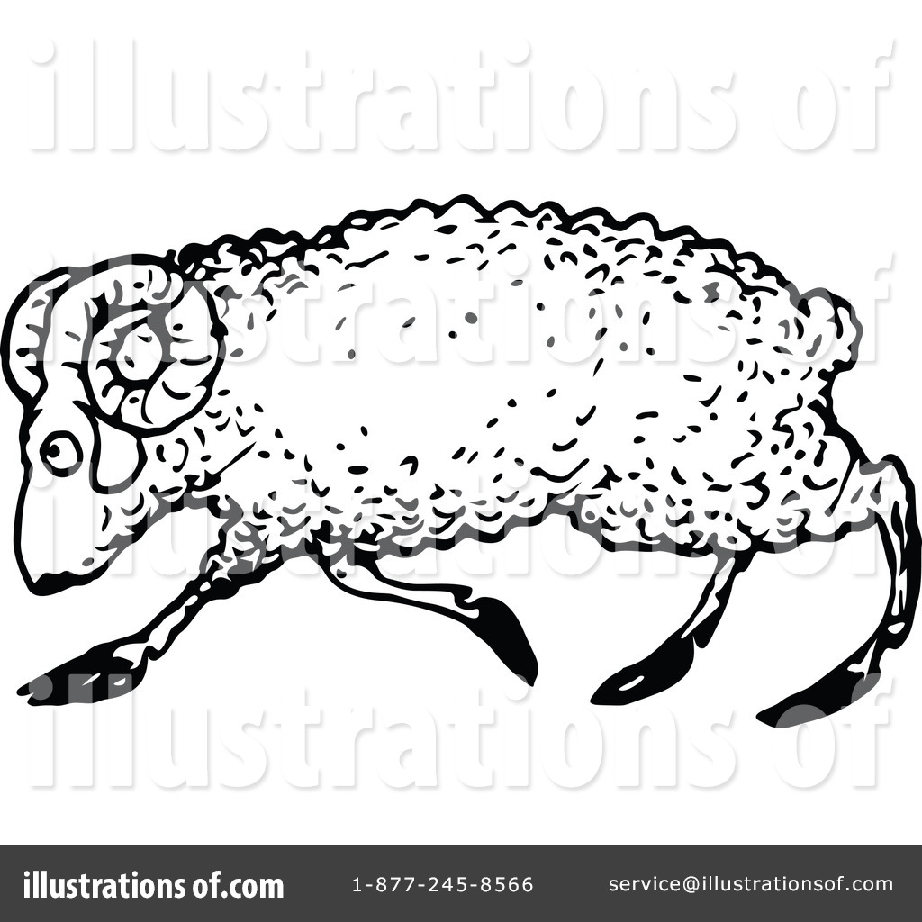Ram Clipart #1121372 - Illustration by Prawny Vintage