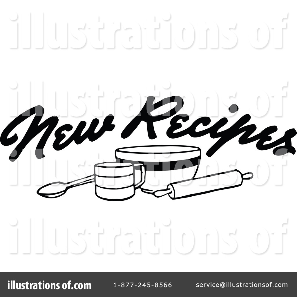Royalty Free RF Recipes Clipart Illustration 1112531 By Prawny Vintage