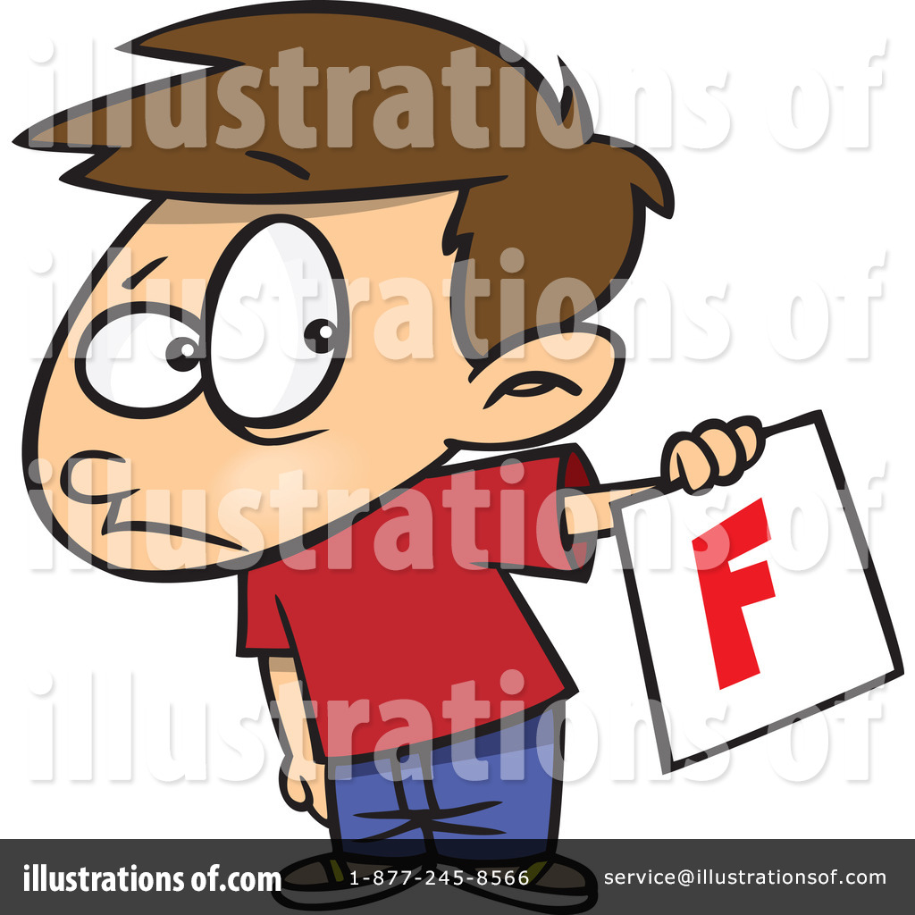 Report Card Clipart #440338 - Illustration by Ron Leishman