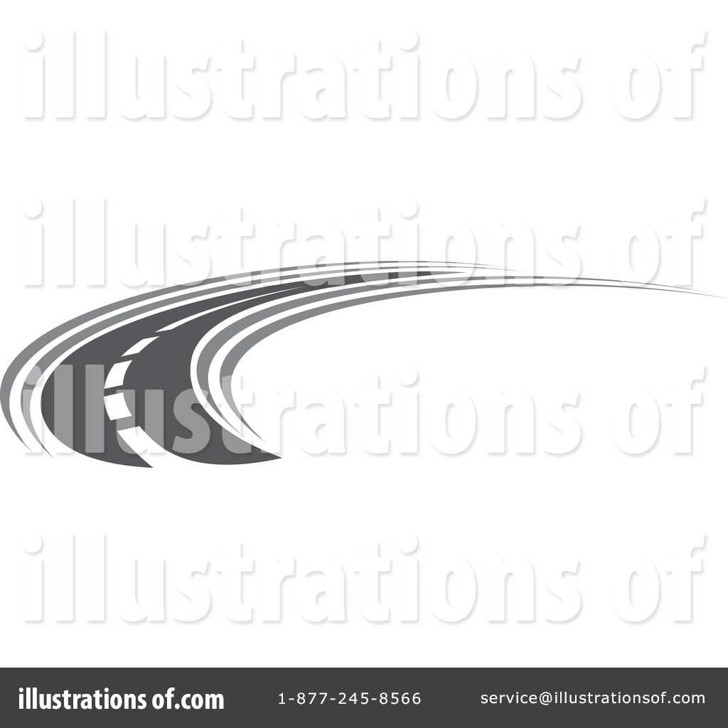 Road Clipart #1122892 - Illustration by Vector Tradition SM
