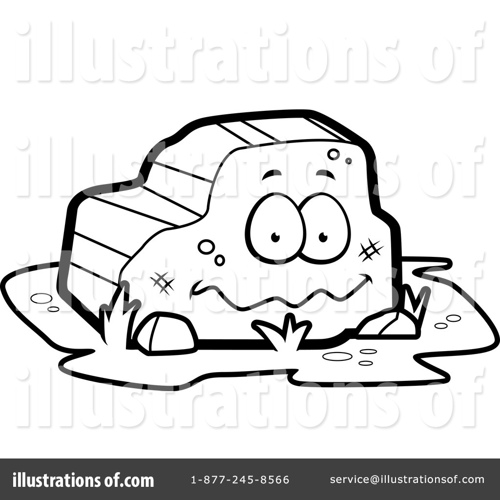 Rock Clipart #1151602 - Illustration by Cory Thoman