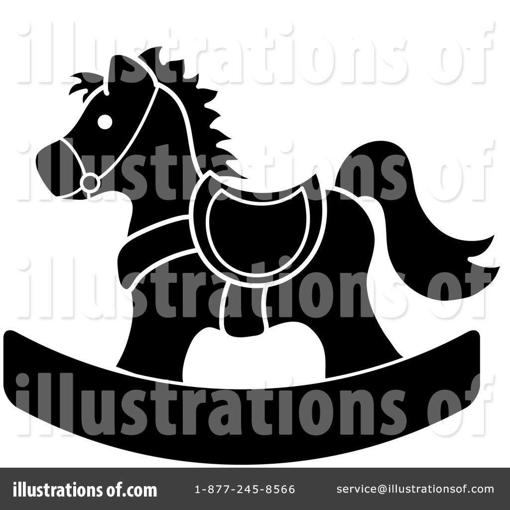Rocking Horse Clipart #99118 - Illustration by Pams Clipart
