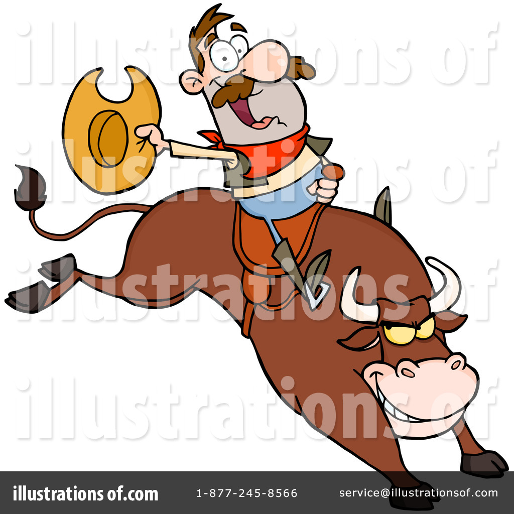 rodeo clipart 1123445 illustration by hit toon rh illustrationsof com free rodeo clipart free rodeo clipart