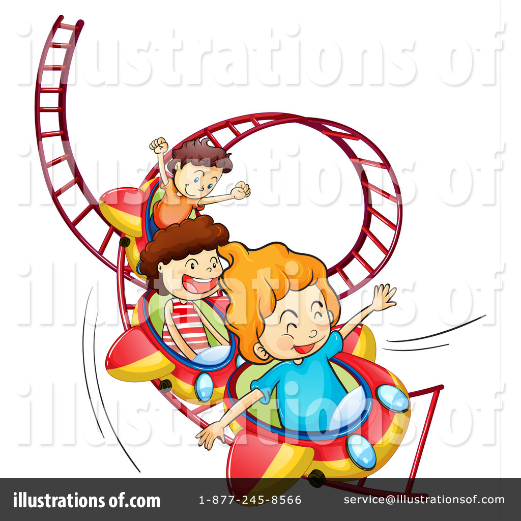 roller coaster clipart 1170184 illustration by graphics rf rh illustrationsof com roller coaster clipart black and white roller coaster clip art free