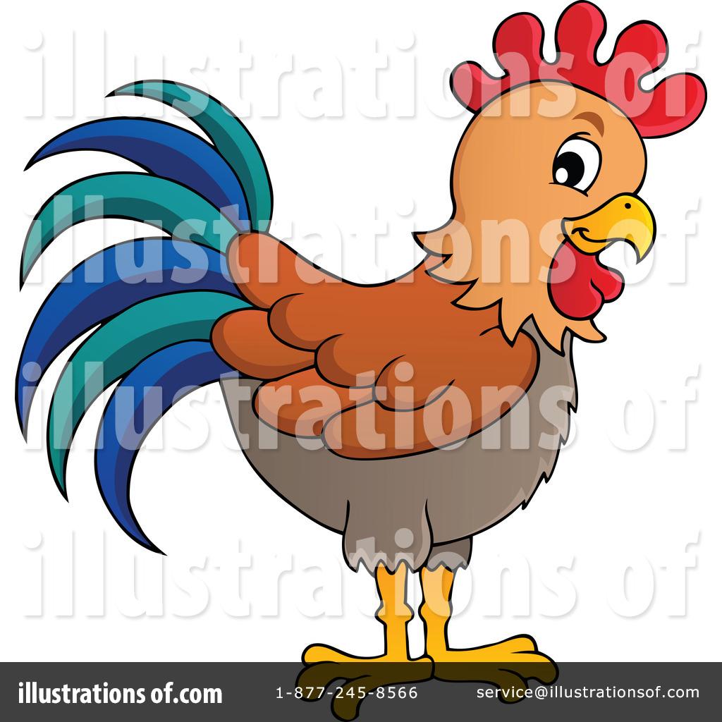 rooster clipart 1154592 illustration by visekart rh illustrationsof com