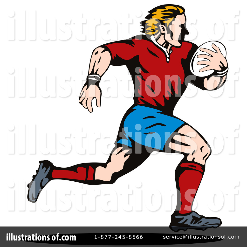 Rugby Clipart #216293 - Illustration by patrimonio