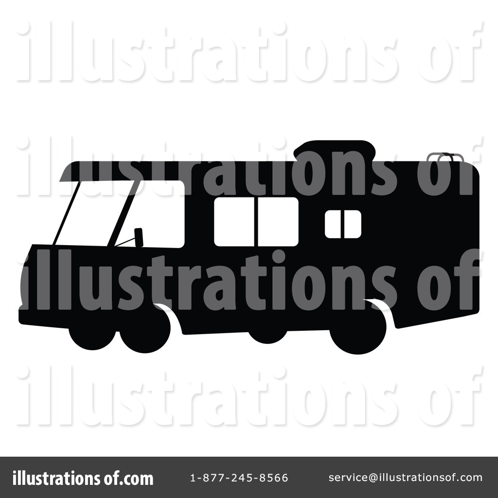 Royalty Free RF Rv Clipart Illustration 79716 By JR