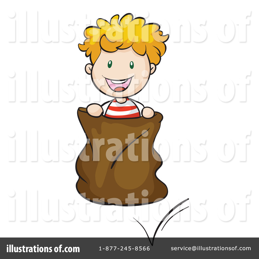 Potato Sack Race Clipart #1315436 - Illustration by visekart