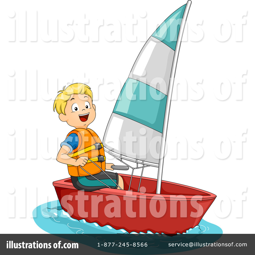 sailing clipart 1271791 illustration by bnp design studio rh illustrationsof com sailing clipart black and white selling clipart on etsy