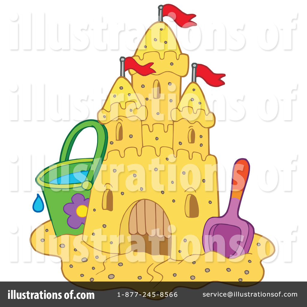 Clip Art Sandcastle Clipart sand castle clipart 214257 illustration by visekart royalty free rf visekart