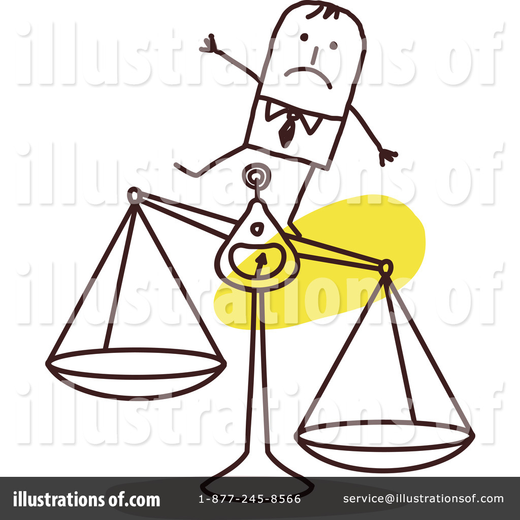 Scales Clipart #1058022 - Illustration by NL shop