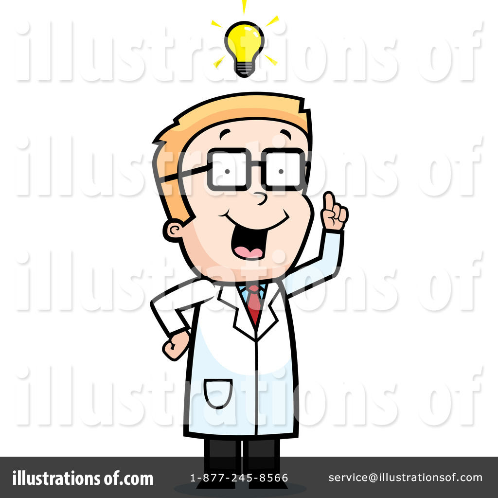 Scientist Clipart #104180 - Illustration by Cory Thoman