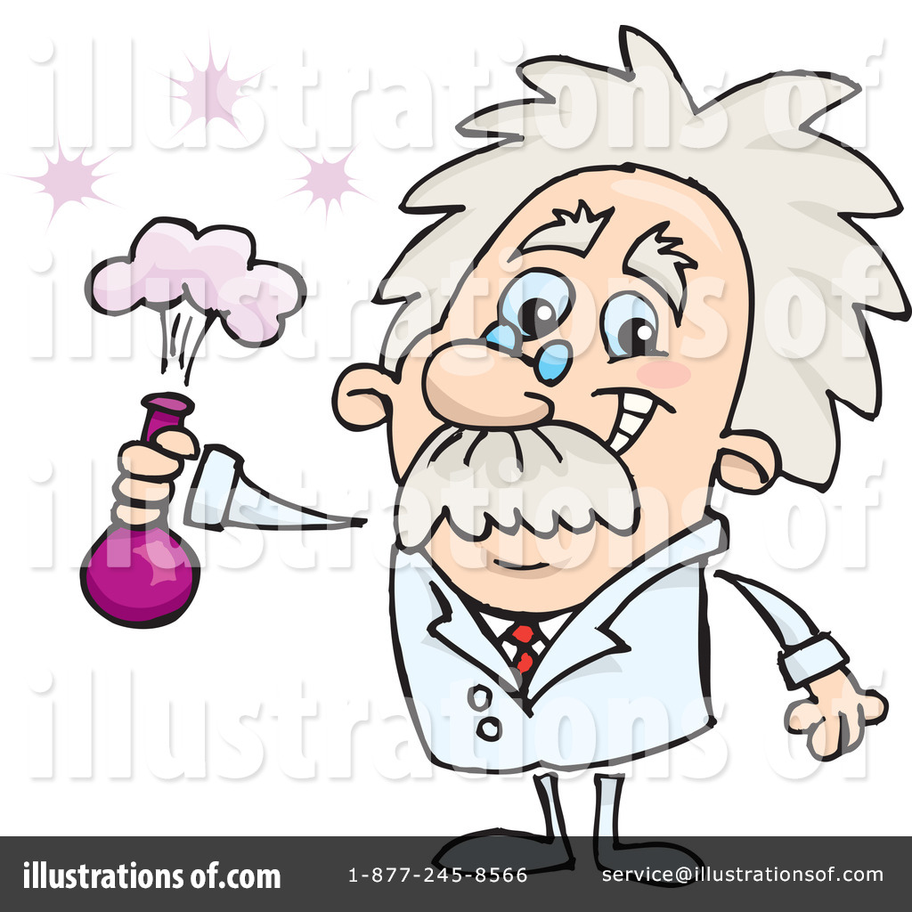 scientist clipart 65522 illustration by dennis holmes Chemistry Clip Art Science Beakers and Test Tubes Clip Art