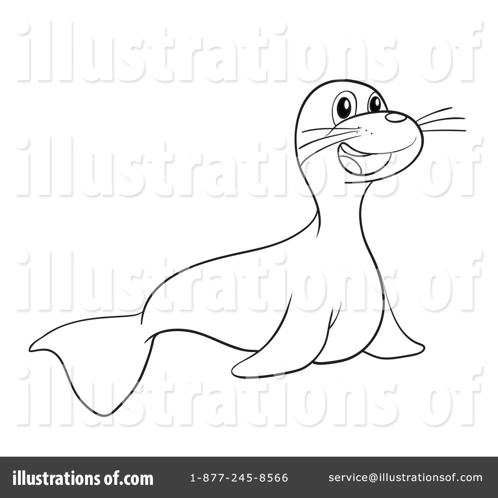 sea lion clipart 1132591 illustration by graphics rf