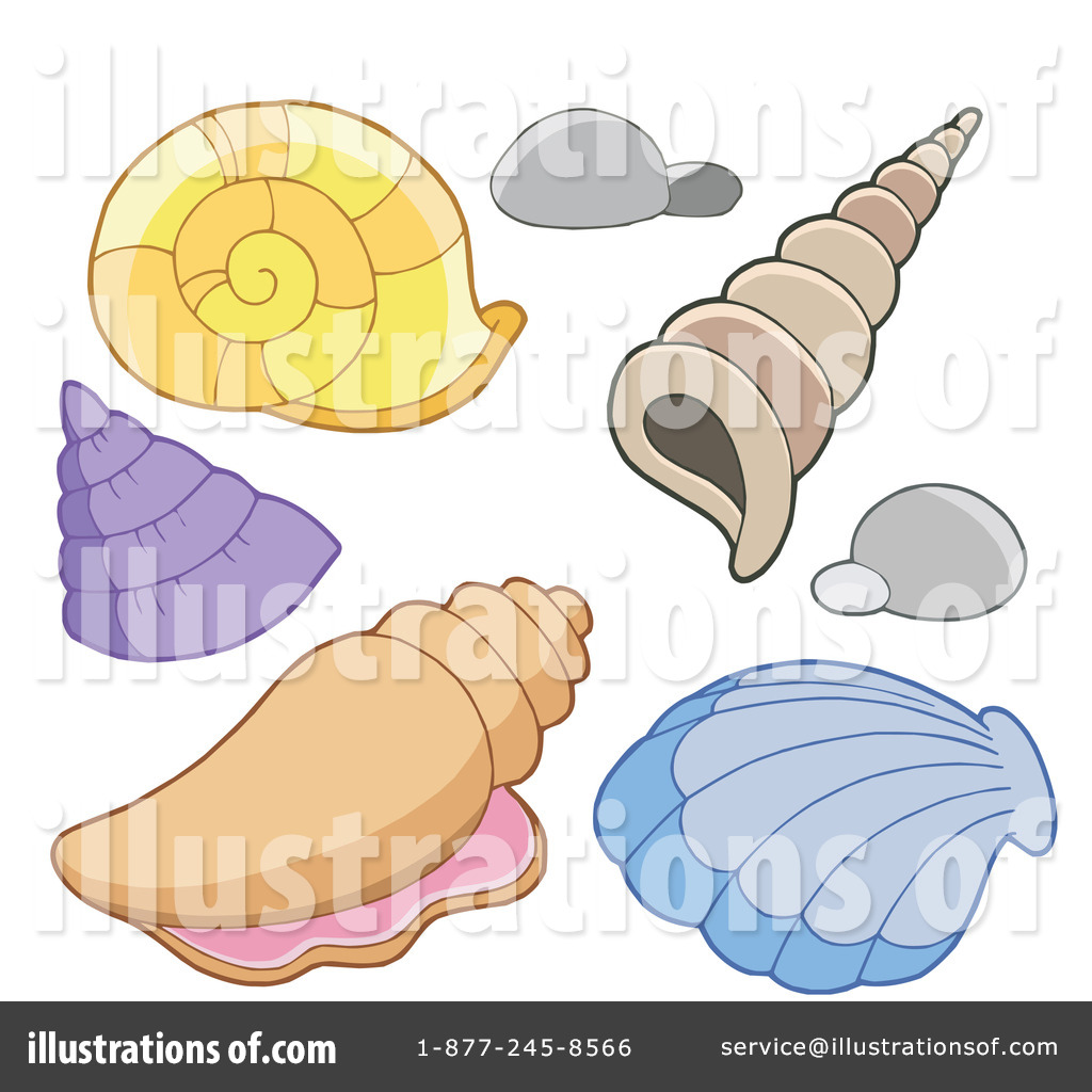 Clip Art Seashell Clip Art sea shells clipart 1107425 illustration by visekart royalty free rf seashells 214248
