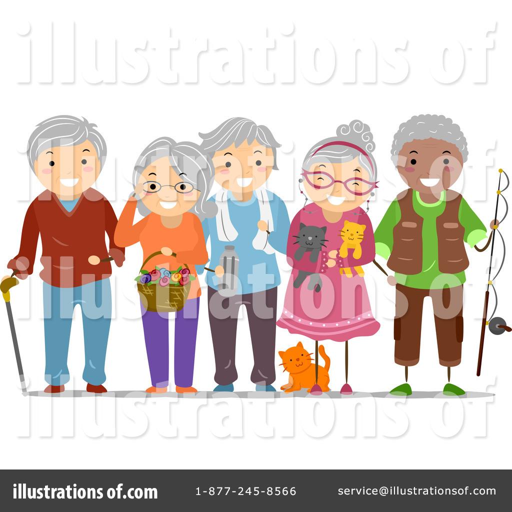 senior citizens clipart 1167634 illustration by bnp design studio rh illustrationsof com senior citizen discount clipart senior citizen birthday clipart
