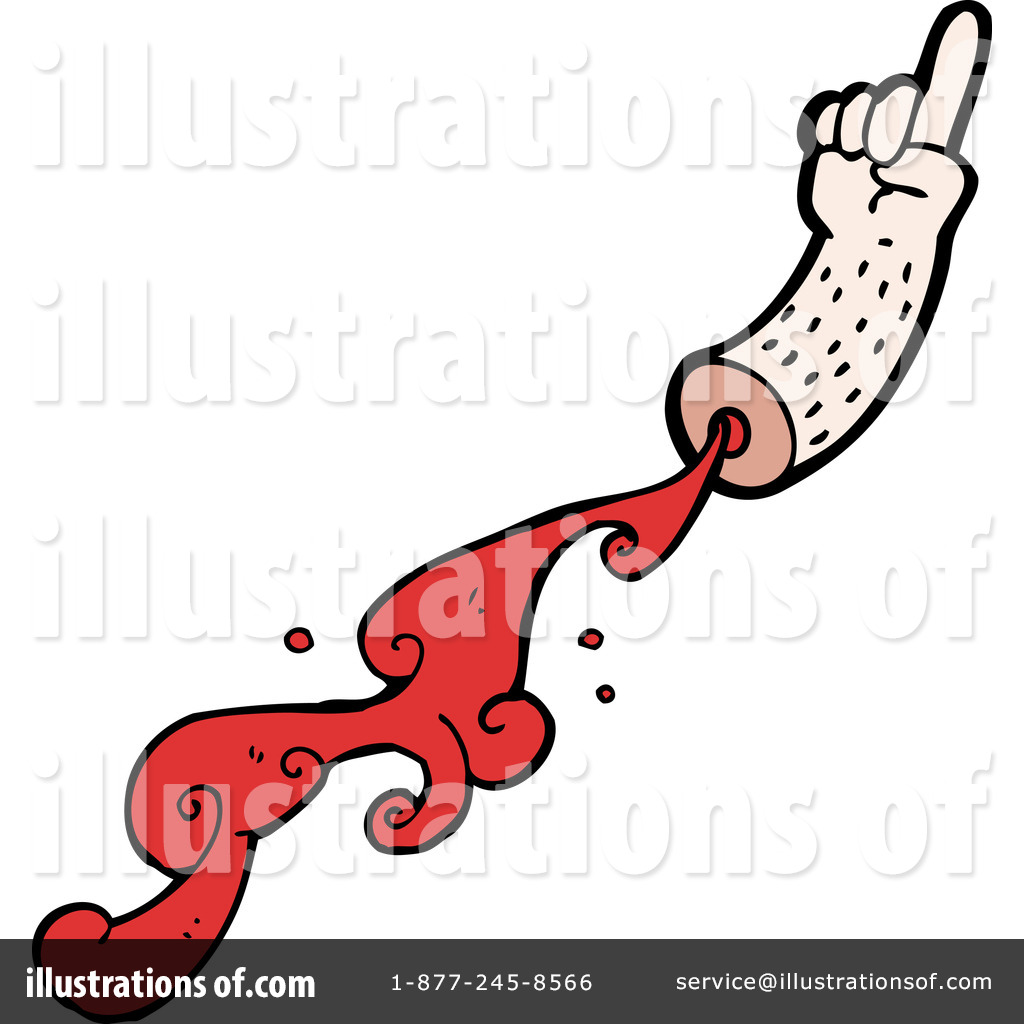 Severed Arm Clipart #1185737 - Illustration by lineartestpilot