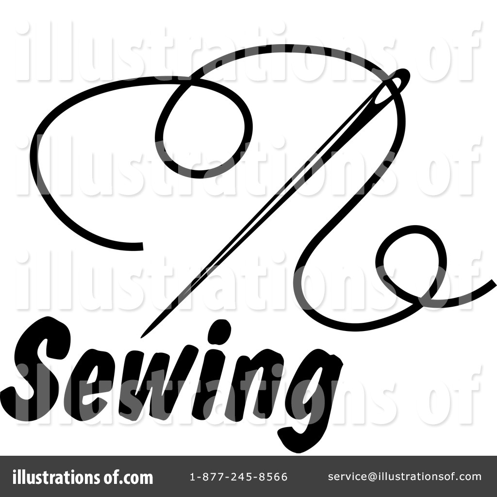 sewing clipart 1262003 illustration by vector tradition sm rh illustrationsof com free clipart sewing needle and thread free sewing clipart black and white