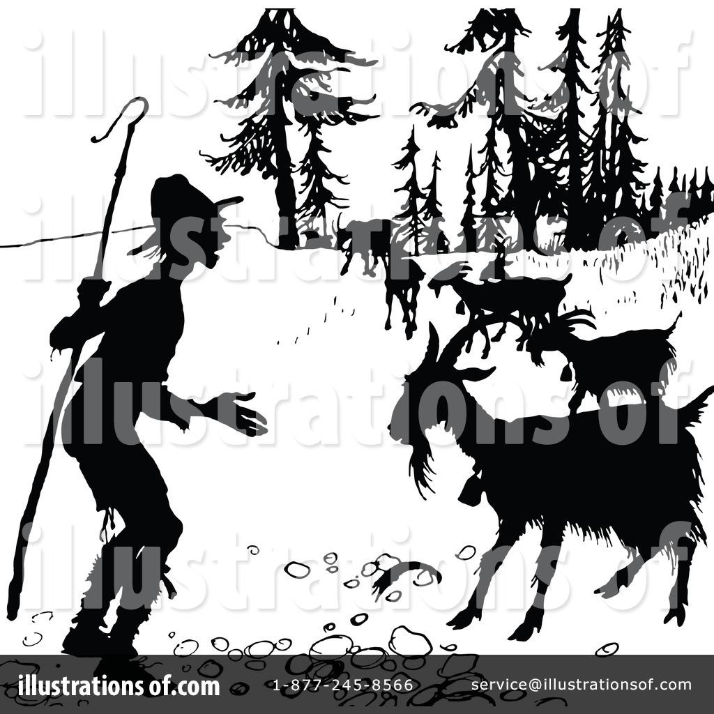 Shepherd Clipart #1120311 - Illustration by Prawny Vintage