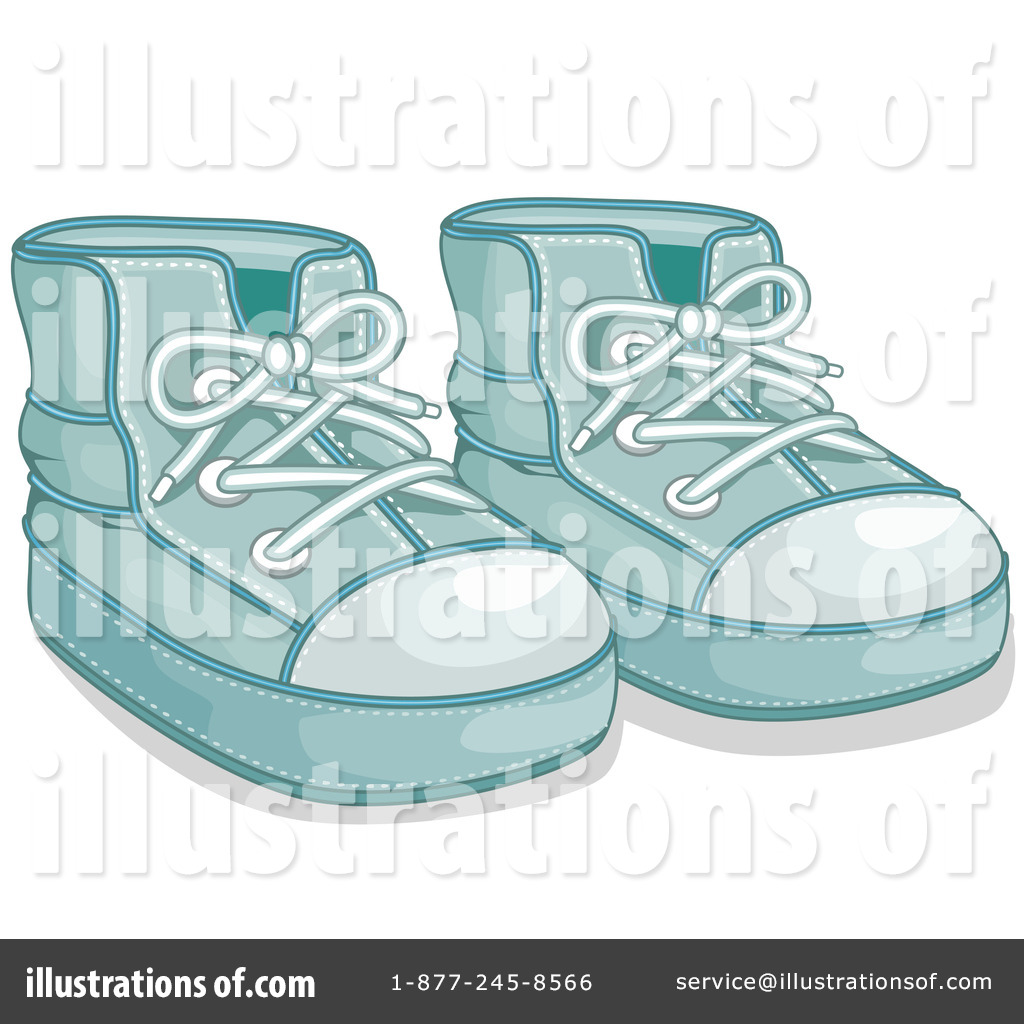 Baby Shoes Clipart  62467 - Illustration by Pams Clipart d4f70a0067