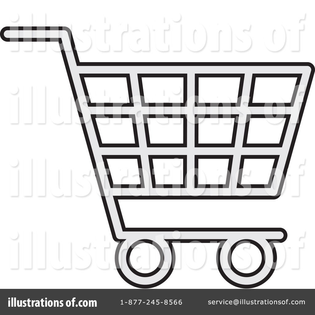 Shopping Cart Clipart #1059493 - Illustration by Any Vector