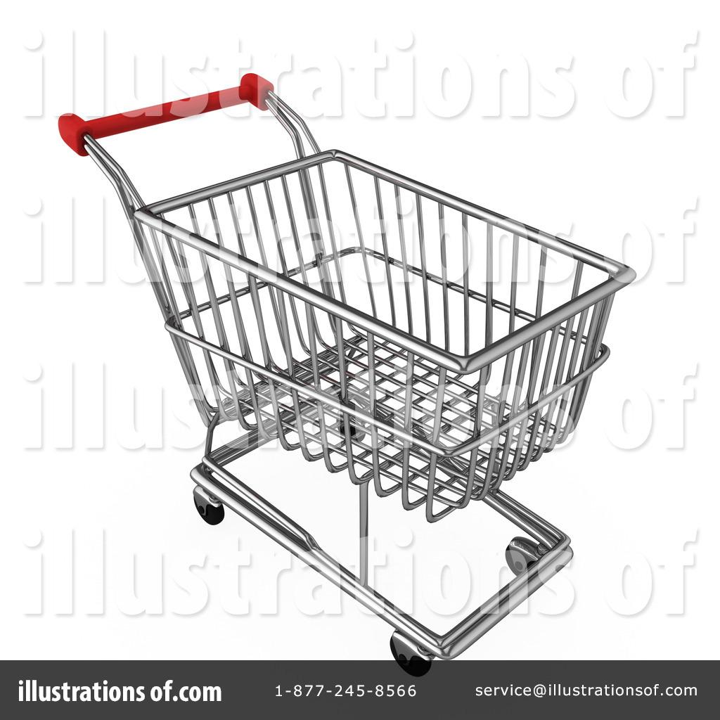Shopping Cart Clipart #1092868 - Illustration by BNP Design Studio