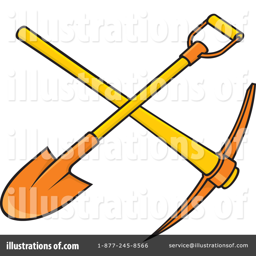 shovel clipart 1062785 illustration by any vector rh illustrationsof com shovel images clipart free clipart shovel