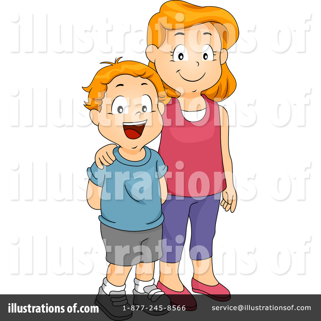 Siblings Clipart #1150853 - Illustration by BNP Design Studio