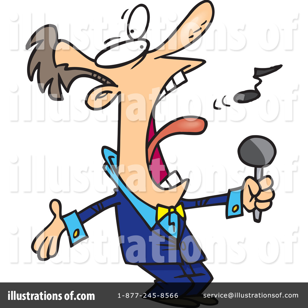singer clipart 439451 illustration by toonaday rh illustrationsof com singer clipart png singer clipart black and white