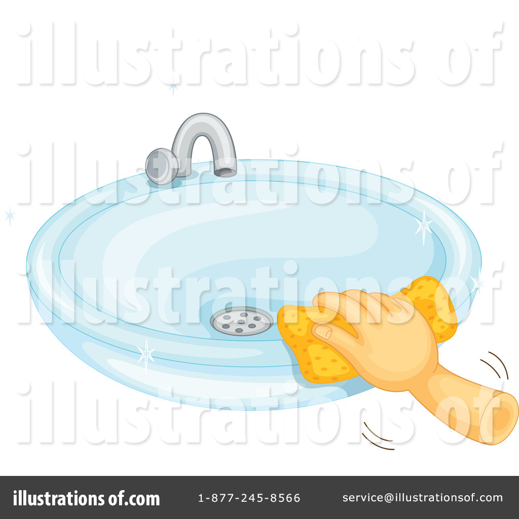 Sink Clipart #1138213 - Illustration by Graphics RF for bathroom sink clipart  299kxo