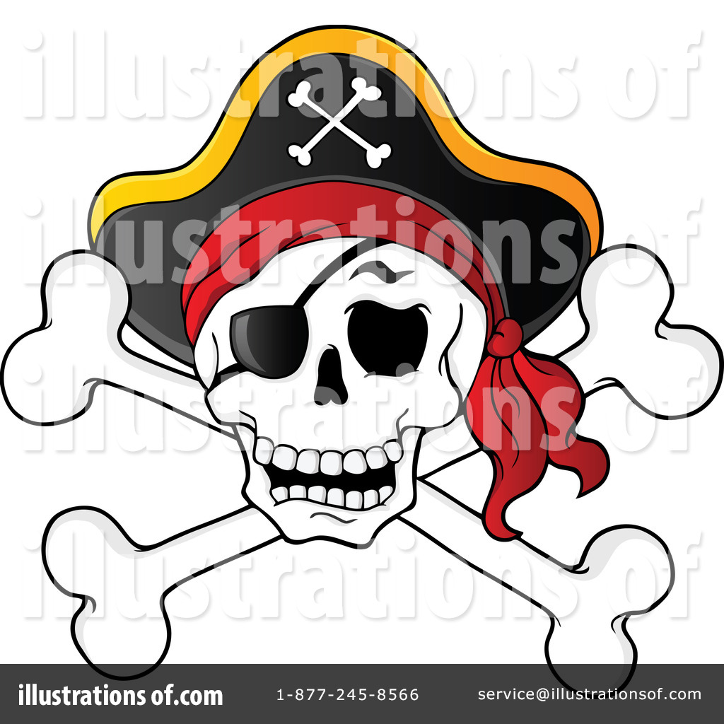 skull and crossbones clipart 1104910 illustration by visekart rh illustrationsof com skull and crossbones clip art free printable skull and crossbones clipart images