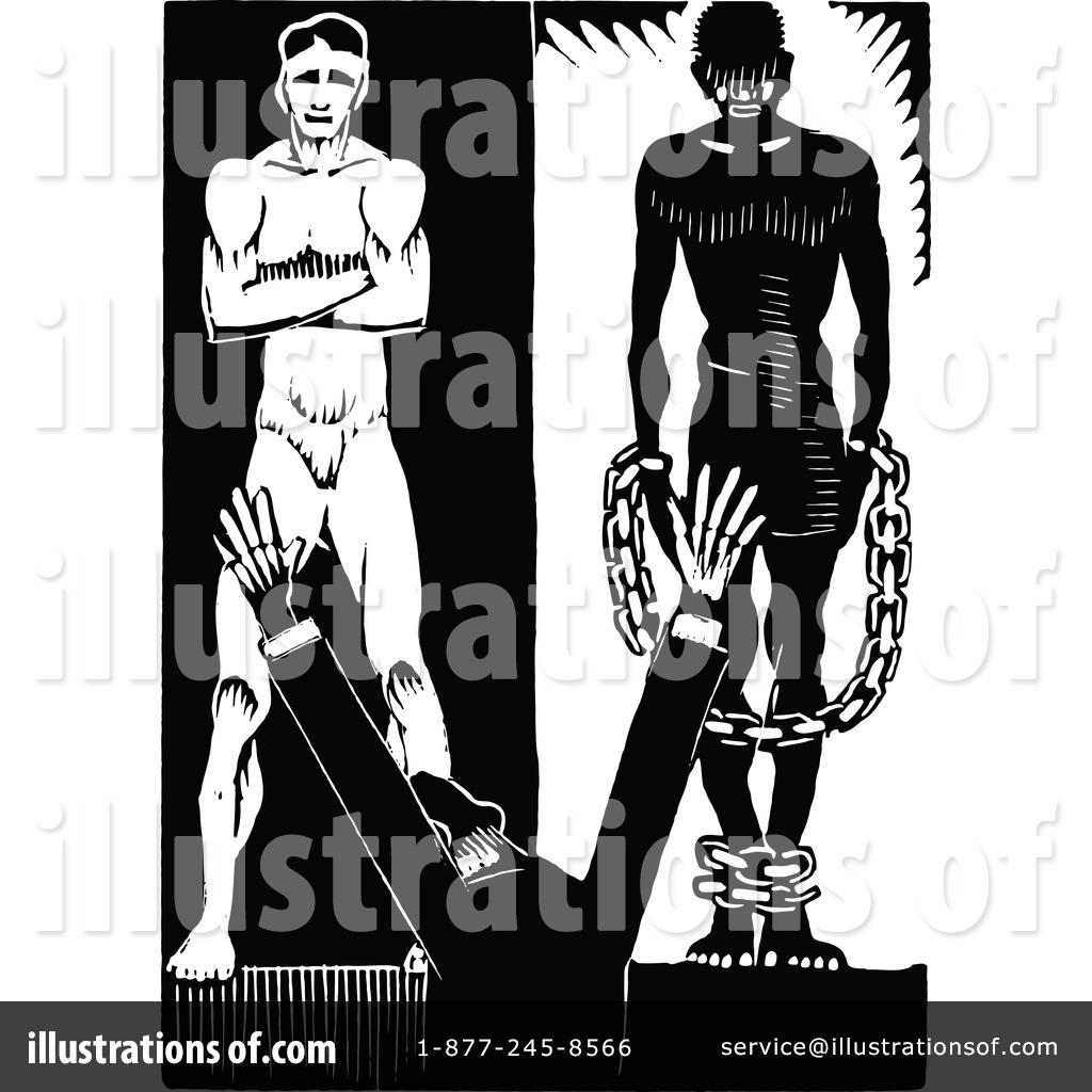 1184244 Royalty Free Slavery Clipart Illustration on Dusting Cleaning Clip Art Free