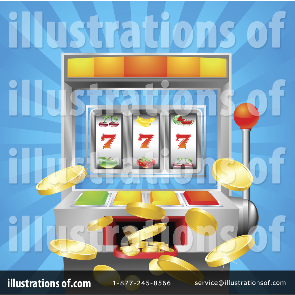 Slot Machine Clipart #1067262 - Illustration by AtStockIllustration