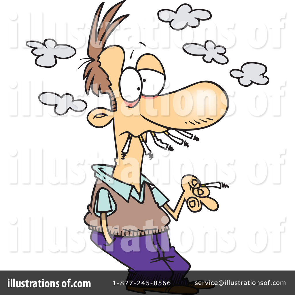 smoking clipart 1048163 illustration by toonaday rh illustrationsof com stop smoking clip art smoking clip art - ash can